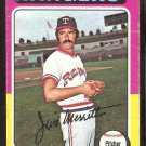 Texas Rangers Jim Merritt 1975 Topps Baseball Card # 83 Good