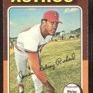 Houston Astros J.R. Richard 1975 Topps Baseball Card # 73 g/vg