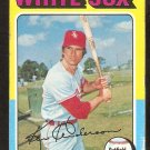Chicago White Sox Ken Henderson 1975 Topps Baseball Card # 59 good