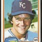 Kansas City Royals Ken Brett 1981 Topps # 47 nr mt