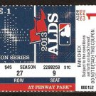 2013 Boston Red Sox Tampa Bay Rays Alds Game 1 Ticket Jon Lester Shane Victorino
