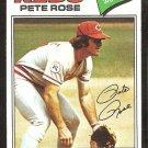 1977 Topps # 450 Cincinnati Reds Pete Rose