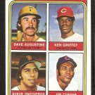 1974 Topps # 598 Cincinnati Reds Ken Griffey Rookie Card RC
