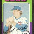 1975 Topps # 176 Chicago Cubs Burt Hooton