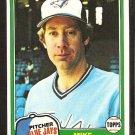 1981 Topps # 77 Toronto Blue Jays Mike Barlow nr mt