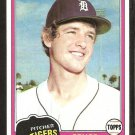 1981 Topps # 79 Detroit Tigers Bruce Robbins nr mt
