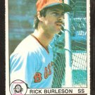 1979 OPC O Pee Chee # 57 Boston Red Sox Rick Burleson