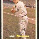 1957 Topps # 14 Baltimore Orioles Bob Nieman