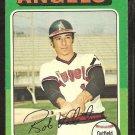 1975 Topps # 215 California Angels Bobby Valentine