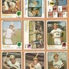 1973 Topps Pittsburgh Pirates Team Lot 19 diff Willie Stargell Al Oliver Zisk Briles Stennett Kison