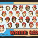 1975 Topps # 276 Chicago White Sox Team Card fair marked cl