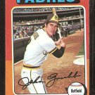 1975 Topps # 298 San Diego Padres Johnny Grubb vg/ex