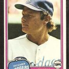 1981 Topps # 104 Los Angeles Dodgers Terry Forster