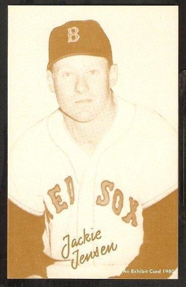 1980 Exhibit Boston Red Sox Jackie Jensen