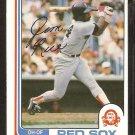 1982 O Pee Chee OPC # 366 Boston Red Sox Jim Rice