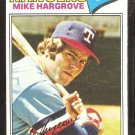 1977 Topps # 275 Texas Rangers Mike Hargrove