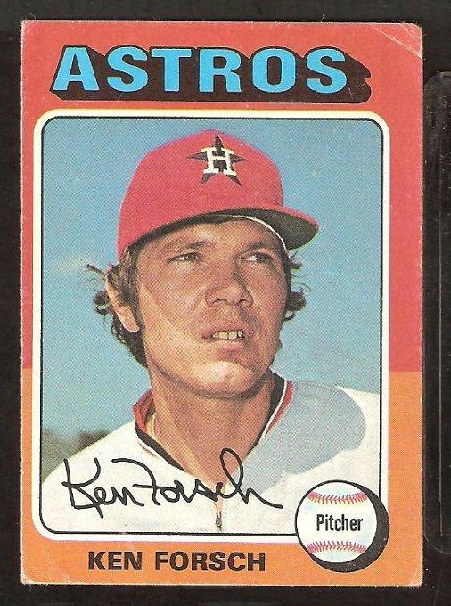 1975 Topps # 357 Houston Astros Ken Forsch
