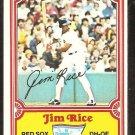 1981 Drakes Big Hitters Boston Red Sox Jim Rice # 8