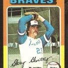 1975 Topps # 393 Atlanta Braves Gary Gentry ex