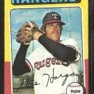 1975 Topps # 362 Texas Rangers Steve Hargan vg/ex
