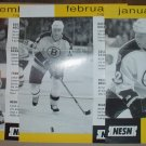 6 Diff Boston Bruins Schedule Flyers 1999-2001 Andreychuk Bill Guerin McLaren Hal Gill