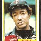 1981 Topps # 137 Minnesota Twins Hosken Powell nr mt
