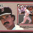 1983 Donruss Action All Star # 2 Boston Red Sox Dwight Evans