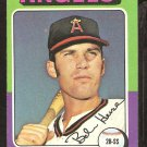 1975 Topps # 441 California Angels Bobby Heise ex