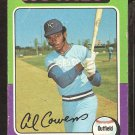 1975 Topps # 437 Kansas City Royals Al Cowens good