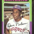 1975 Topps # 435 Texas Rangers Dave Nelson ex