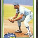 1981 Topps # 155 Atlanta Braves Chris Chambliss nr mt