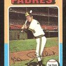 1975 Topps # 484 San Diego Padres Glenn Beckert vg