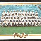 1978 Topps # 626 Toronto Blue Jays Team Card Unmarked Checklist vg/ex