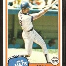 1981 Topps # 163 New York Mets Billy Almon nr mt
