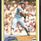 1981 Topps # 166 Seattle Mariners Floyd Bannister nr mt