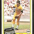 1981 Topps # 168 Pittsburgh Pirates Don Robinson nr mt