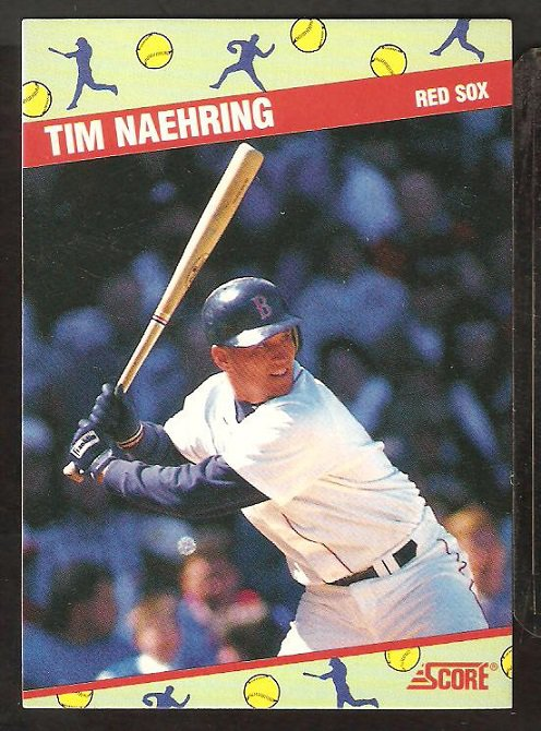 1991 Score Fanfest NSCC National Convention Promo Card # 5 Boston Red Sox Tim Naehring nr mt