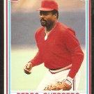 1990 Post Cereal # 22 St Louis Cardinals Pedro Guerrero nr mt