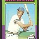 1975 Topps Baseball Card # 556 Milwaukee Brewers Tim Johnson vg/ex