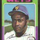 1975 Topps Baseball Card # 575 New York Mets Gene Clines good