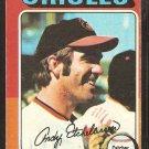 1975 Topps Baseball Card # 583 Baltimore Orioles Andy Etchebarren good