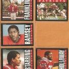 1985 New England Patriots Team Lot John Hannah Andre Tippett Stanley Morgan Raymond Clayborn