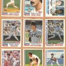 1982 Topps Boston Red Sox Team Lot 28 Yastrzemski Jim Rice Tony Perez