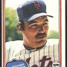 1981 Topps Baseball Card # 189 New York Mets Craig Swan nr mt