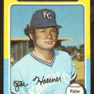 1975 Topps Baseball Card # 629 Kansas City Royals Joe Hoerner vg/ex
