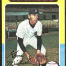 1975 Topps Baseball Card # 608 New York Yankees Gene Michael ex