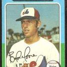 1975 Topps Baseball Card # 592 Montreal Expos Balor Moore g/vg