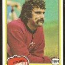 1981 Topps Baseball Card # 193 St Louis Cardinals Pete Vuckovich nr mt