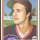 1981 Topps Baseball Card # 198 Cleveland Indians Jerry Dybzinski nr mt