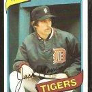 1980 Topps Baseball Card # 371 Detroit Tigers Jack Morris nr mt